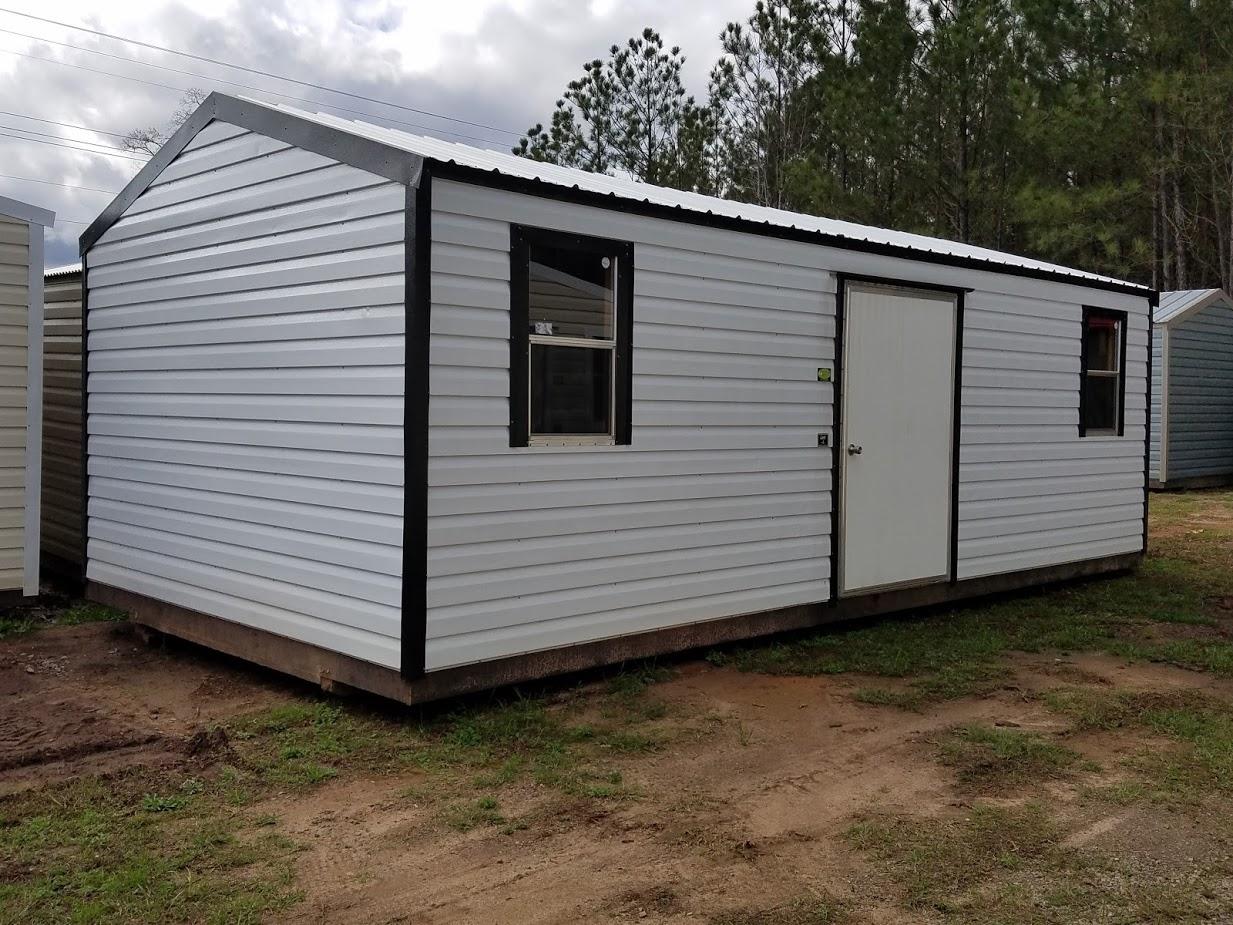 portable storage building
