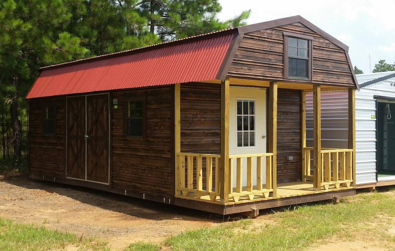 portable cabin with loft