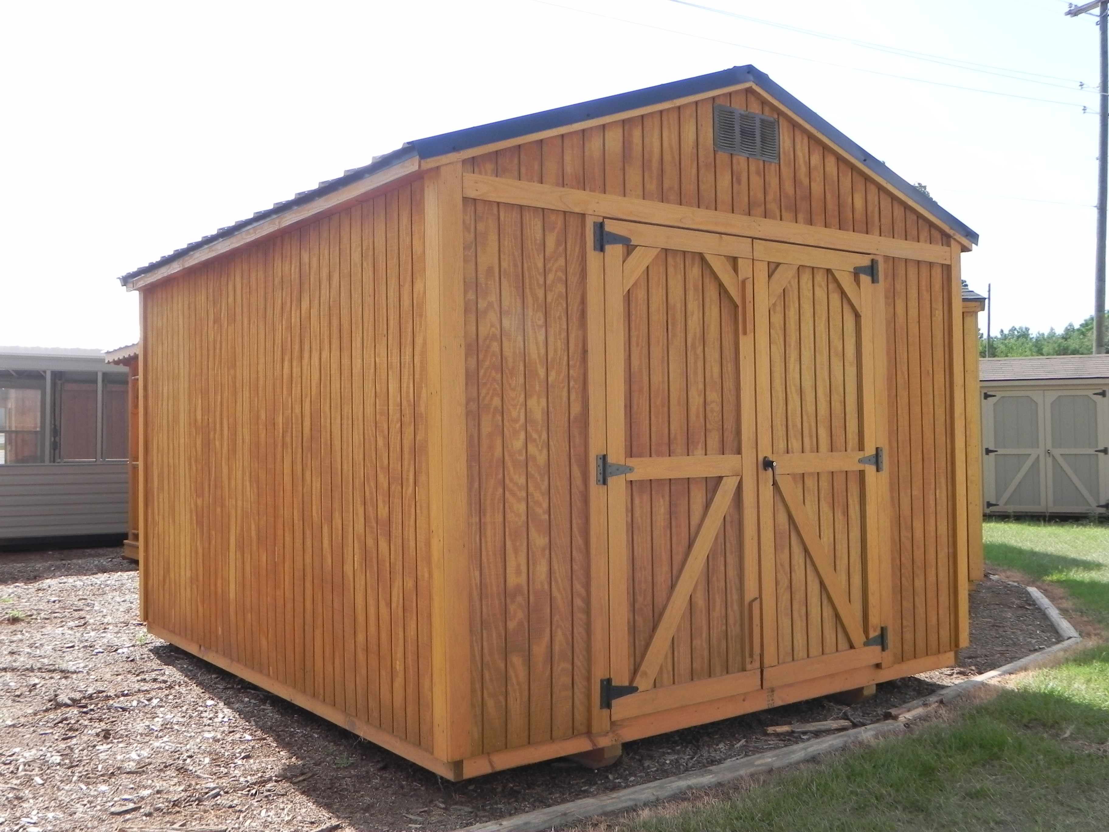 Wood Portable Buildings Garden Shed Sheds Portable