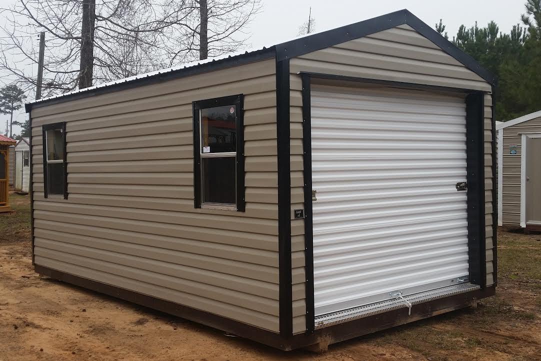portable garage with roll up door georgia